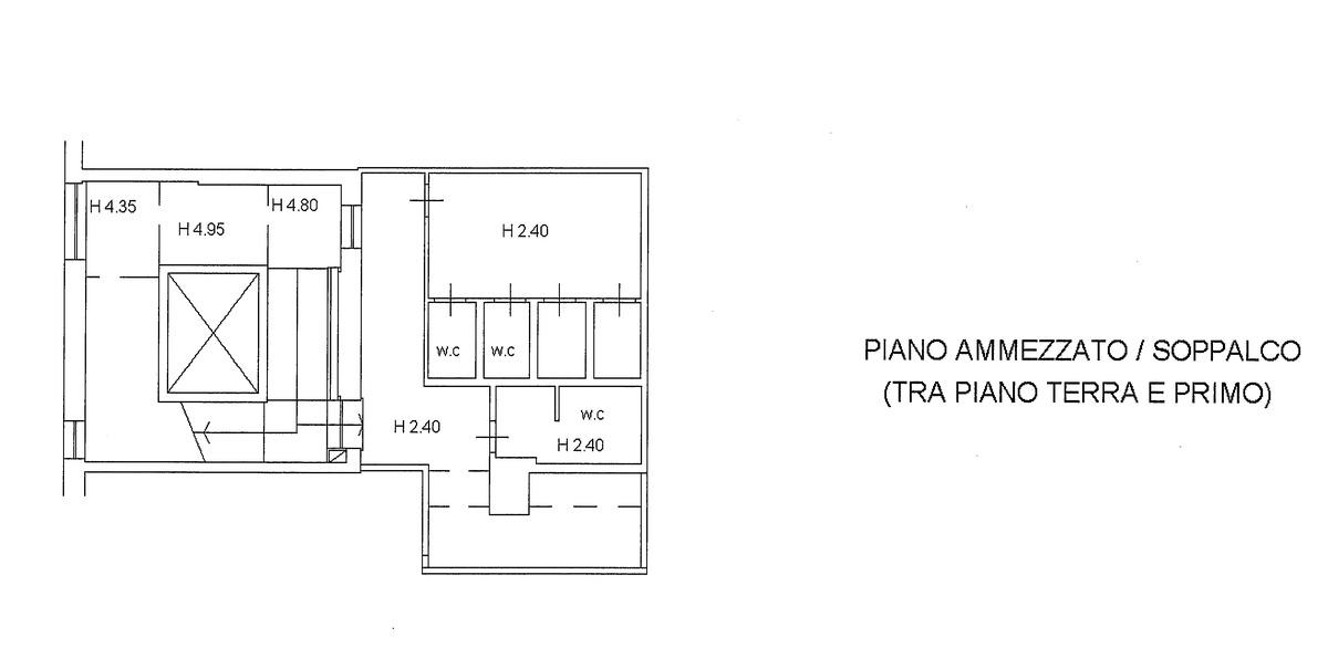 Planimetria 2/4 per rif. 595