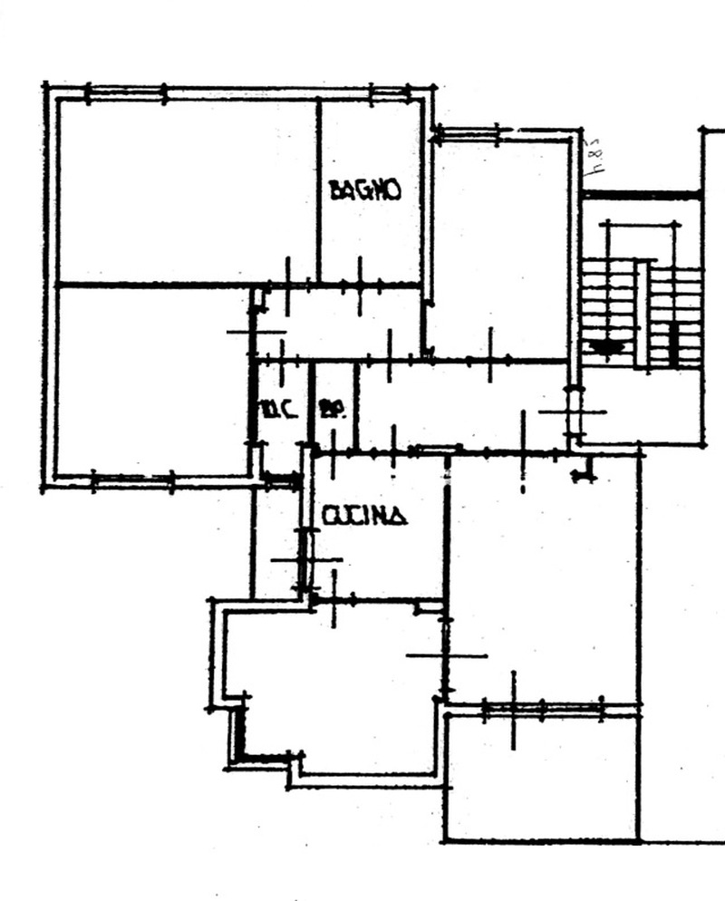 Planimetria 1/3 per rif. 8858