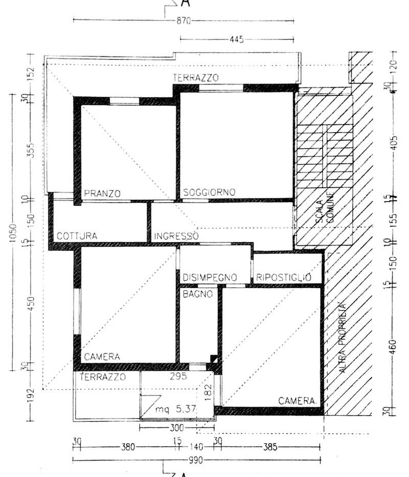 Planimetria 1/1 per rif. 8878
