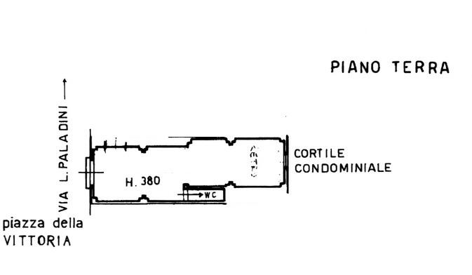 Planimetria 1/2 per rif. 596