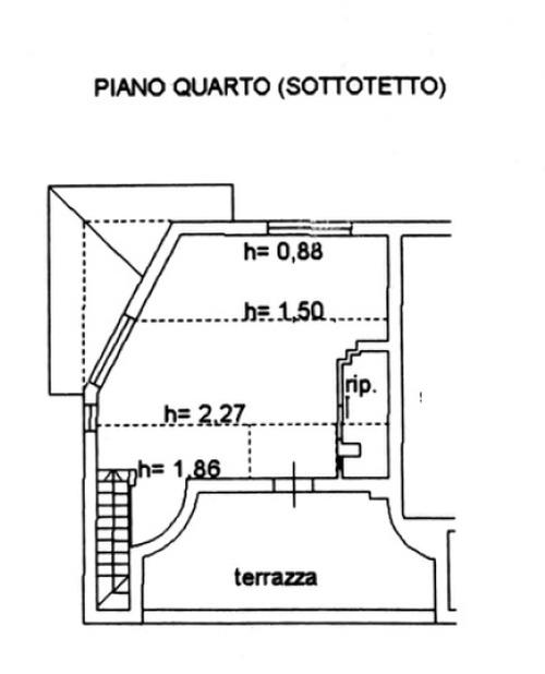 Planimetria 2/2 per rif. 8864