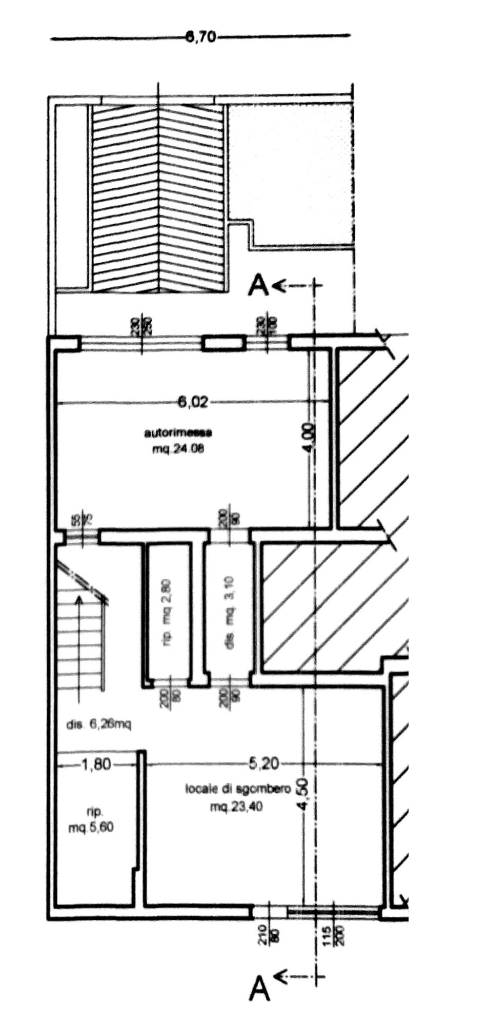 Planimetria 2/4 per rif. 8879