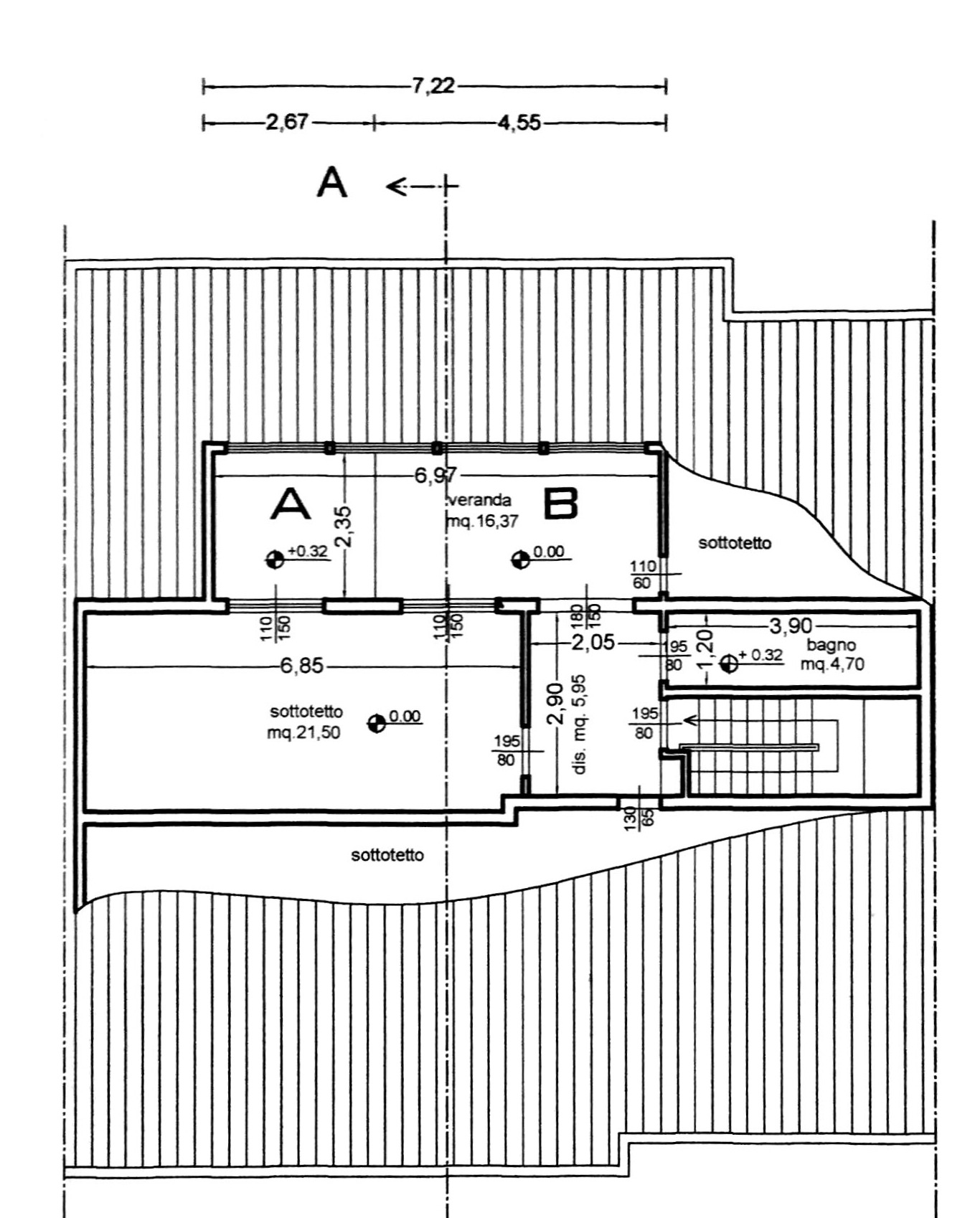 Planimetria 4/4 per rif. 8879