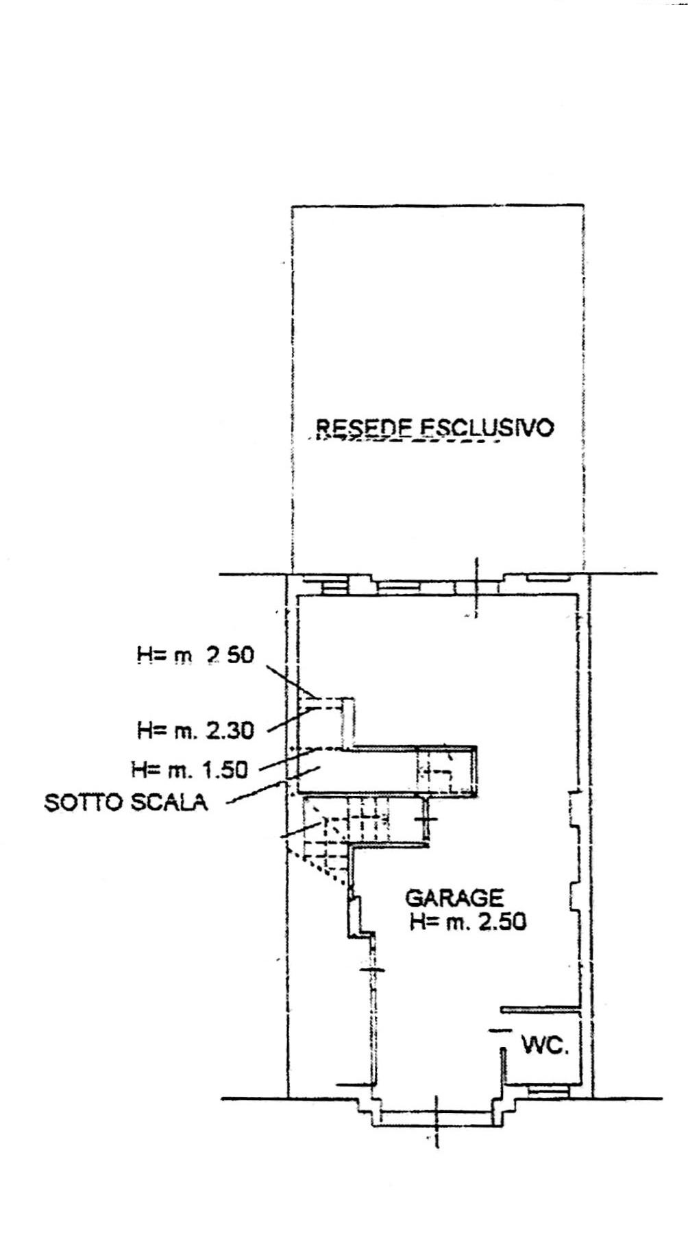 Planimetria 2/3 per rif. 8894