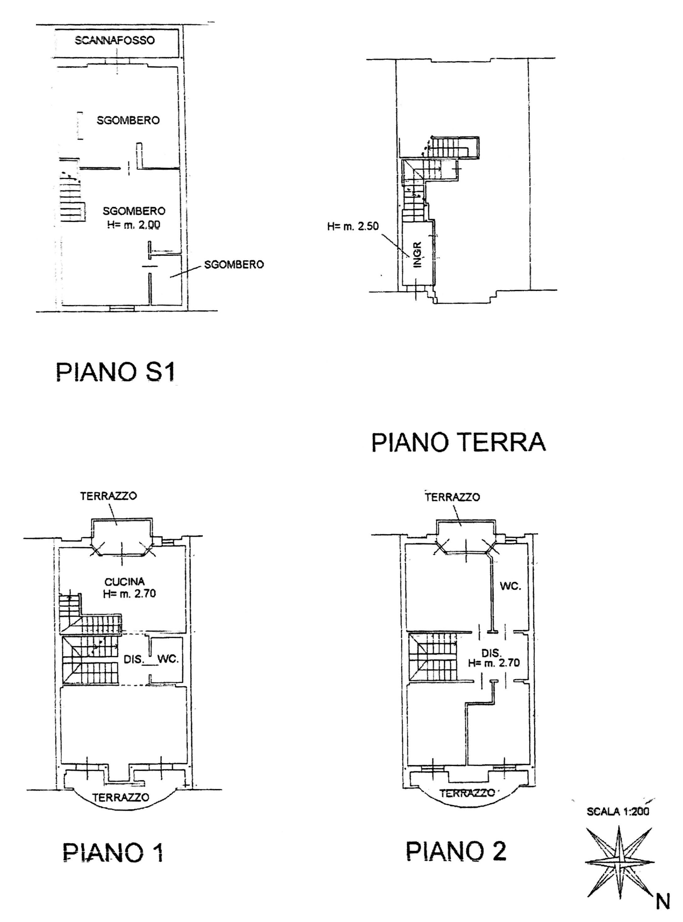 Planimetria 1/3 per rif. 8894