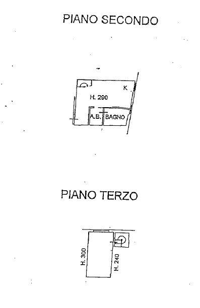 Planimetria 1/2 per rif. 8900