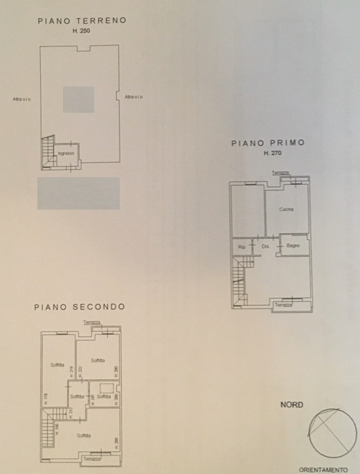 Planimetria 1/1 per rif. 8898