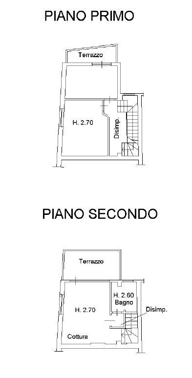 Planimetria 1/2 per rif. 8906
