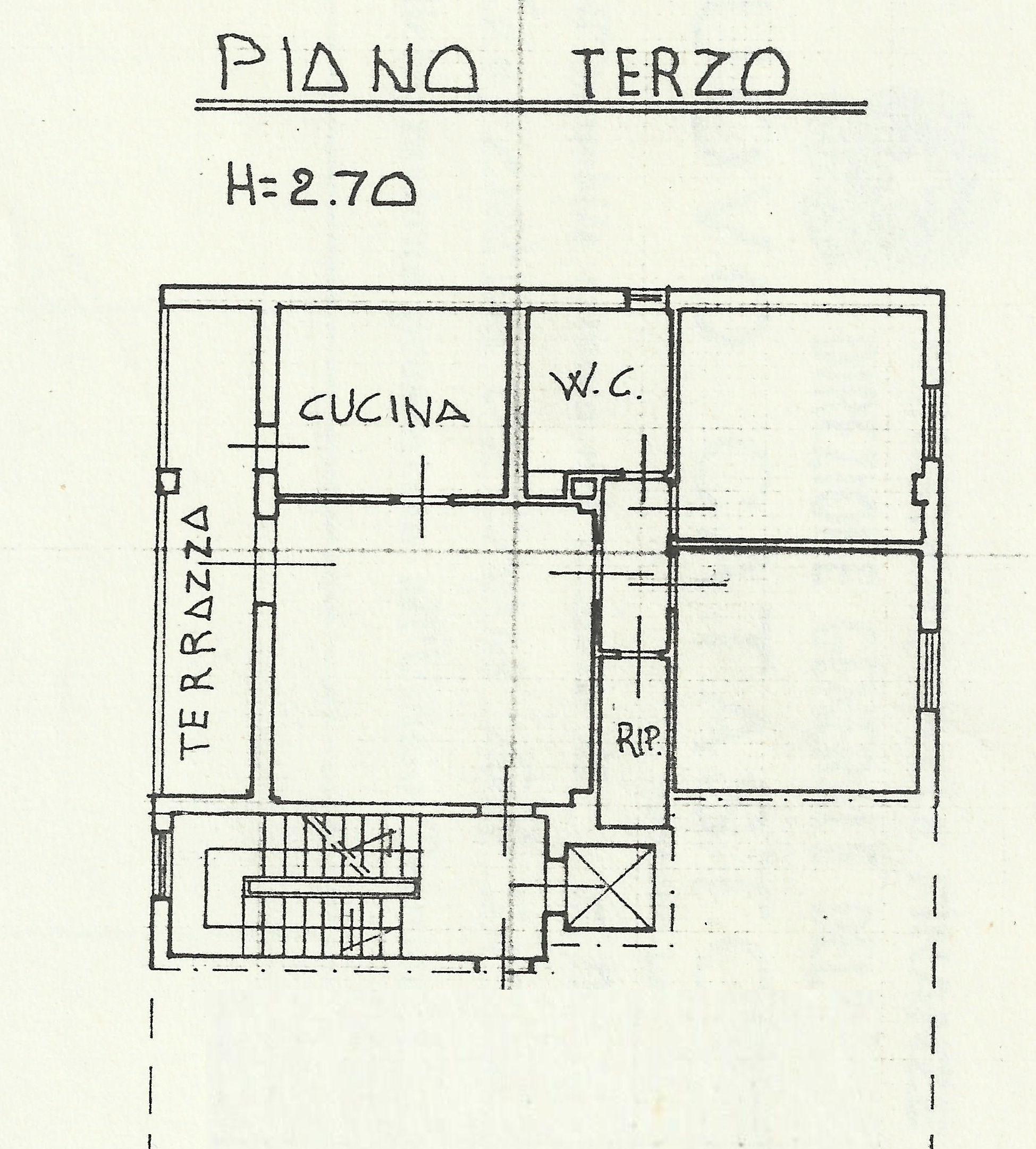 Planimetria 1/1 per rif. 8881