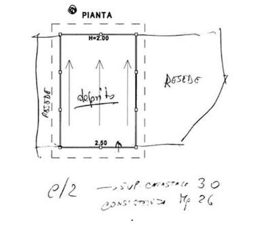 Planimetria 3/3 per rif. 8908