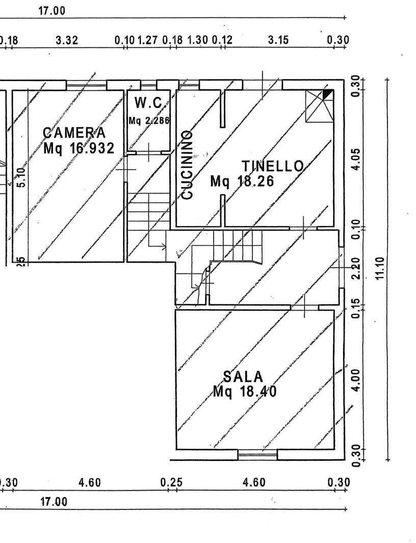 Planimetria 1/3 per rif. 8908