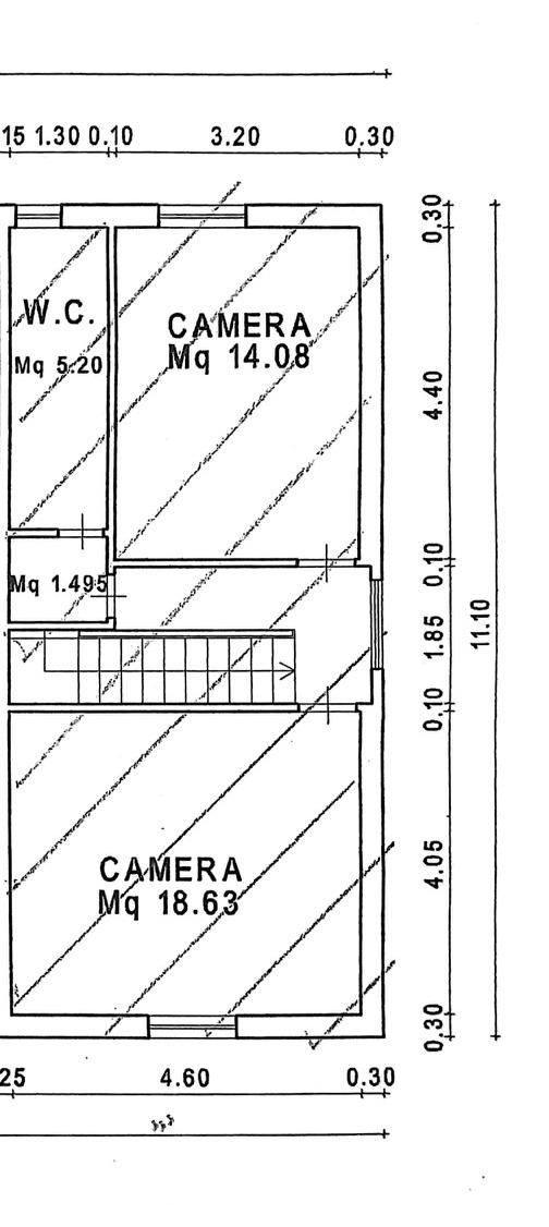 Planimetria 2/3 per rif. 8908
