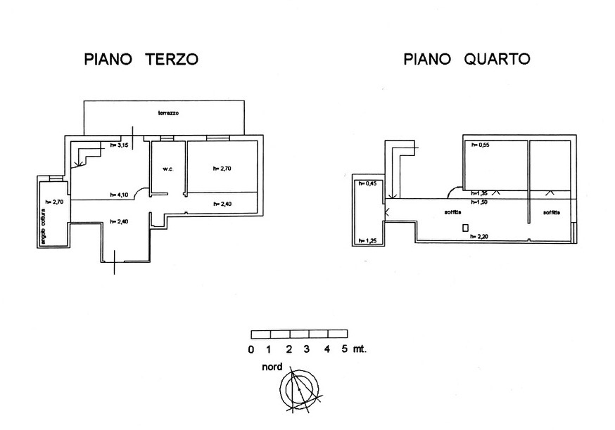 Planimetria 1/3 per rif. 8911