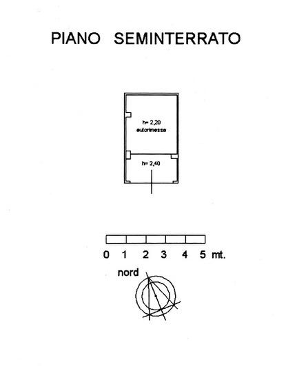Planimetria 2/3 per rif. 8911