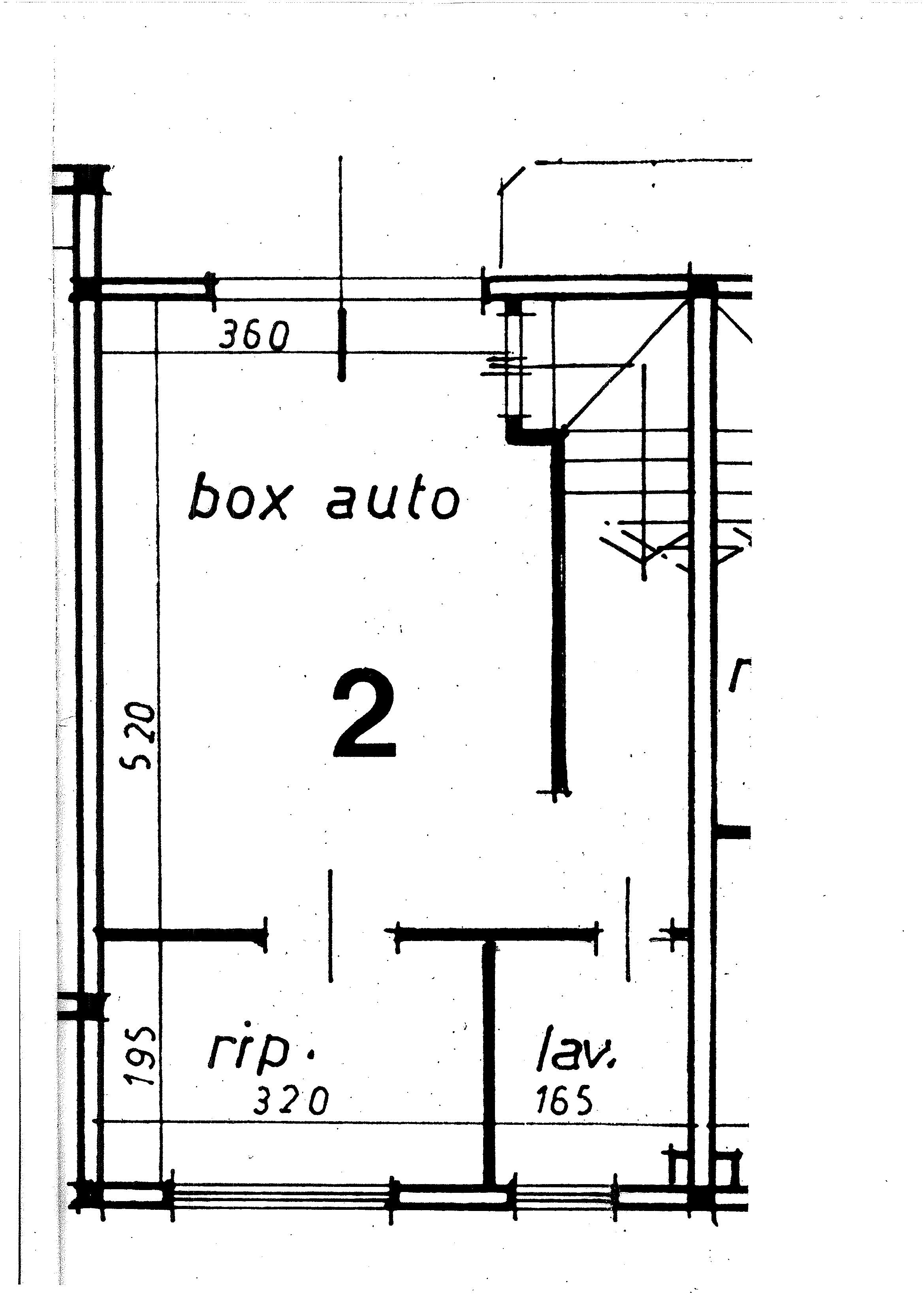 Planimetria 3/3 per rif. 8917