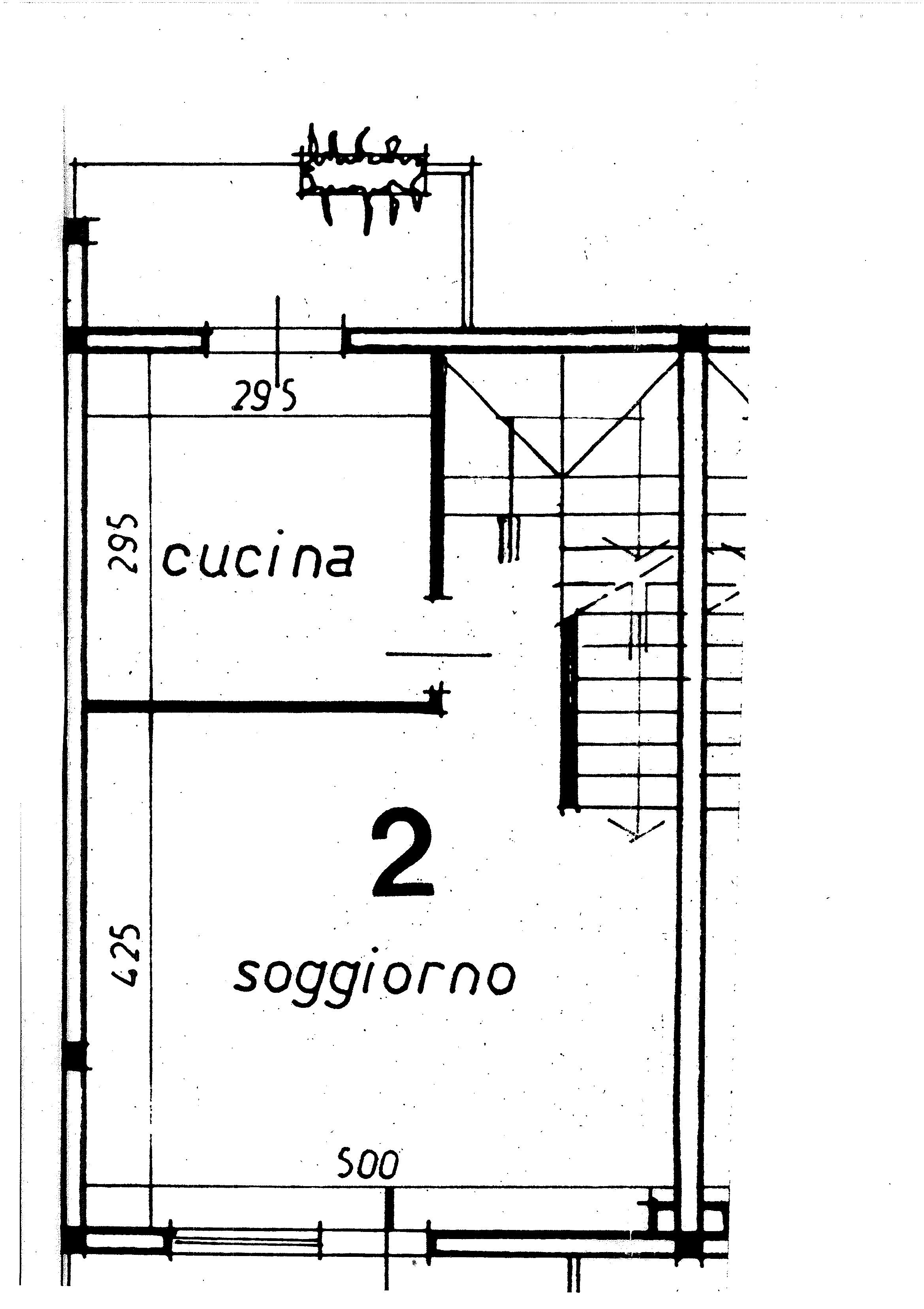 Planimetria 1/3 per rif. 8917