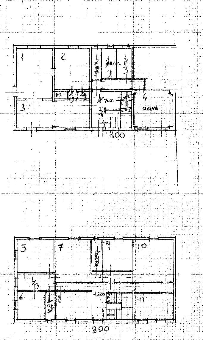 Planimetria 1/2 per rif. 8912