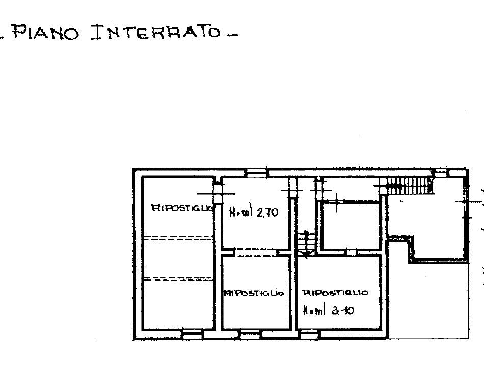 Planimetria 2/2 per rif. 8912