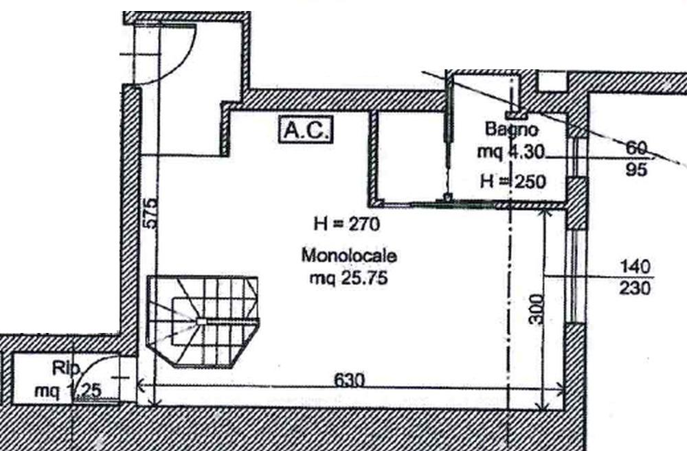 Planimetria 2/3 per rif. 8923