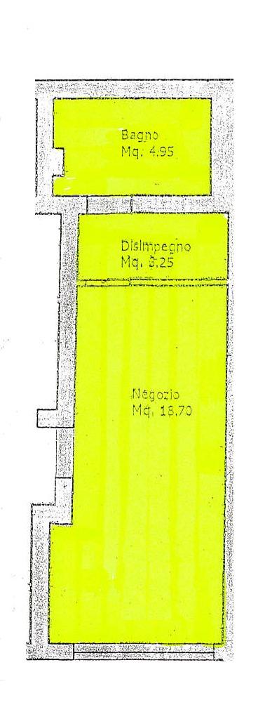 Planimetria 1/2 per rif. 598