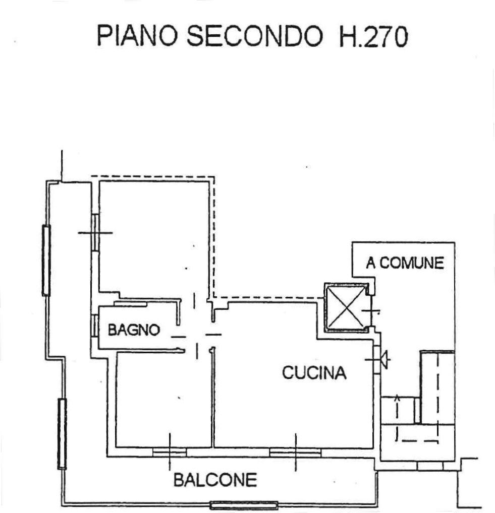 Planimetria 2/3 per rif. 8931