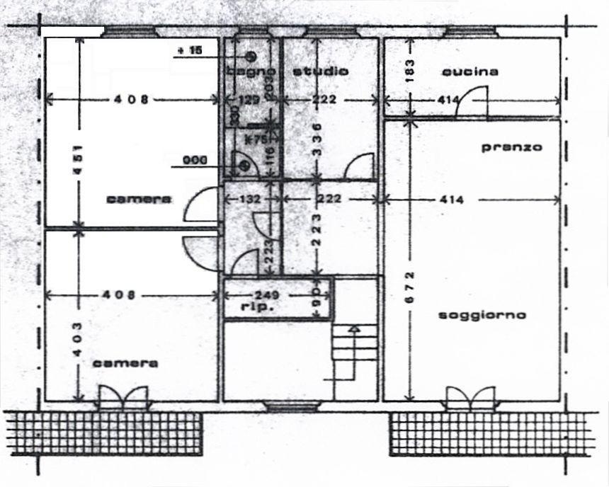Planimetria 1/2 per rif. 8933