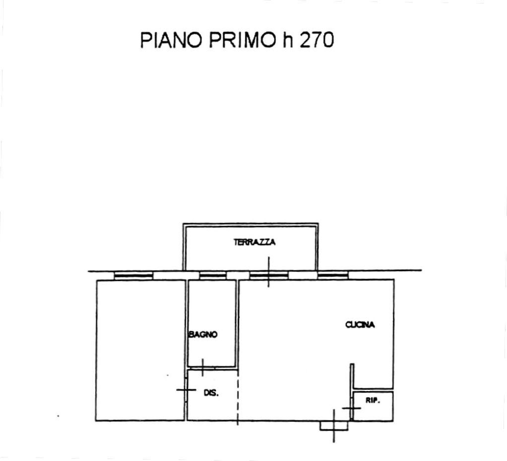 Planimetria 2/3 per rif. 8716-02