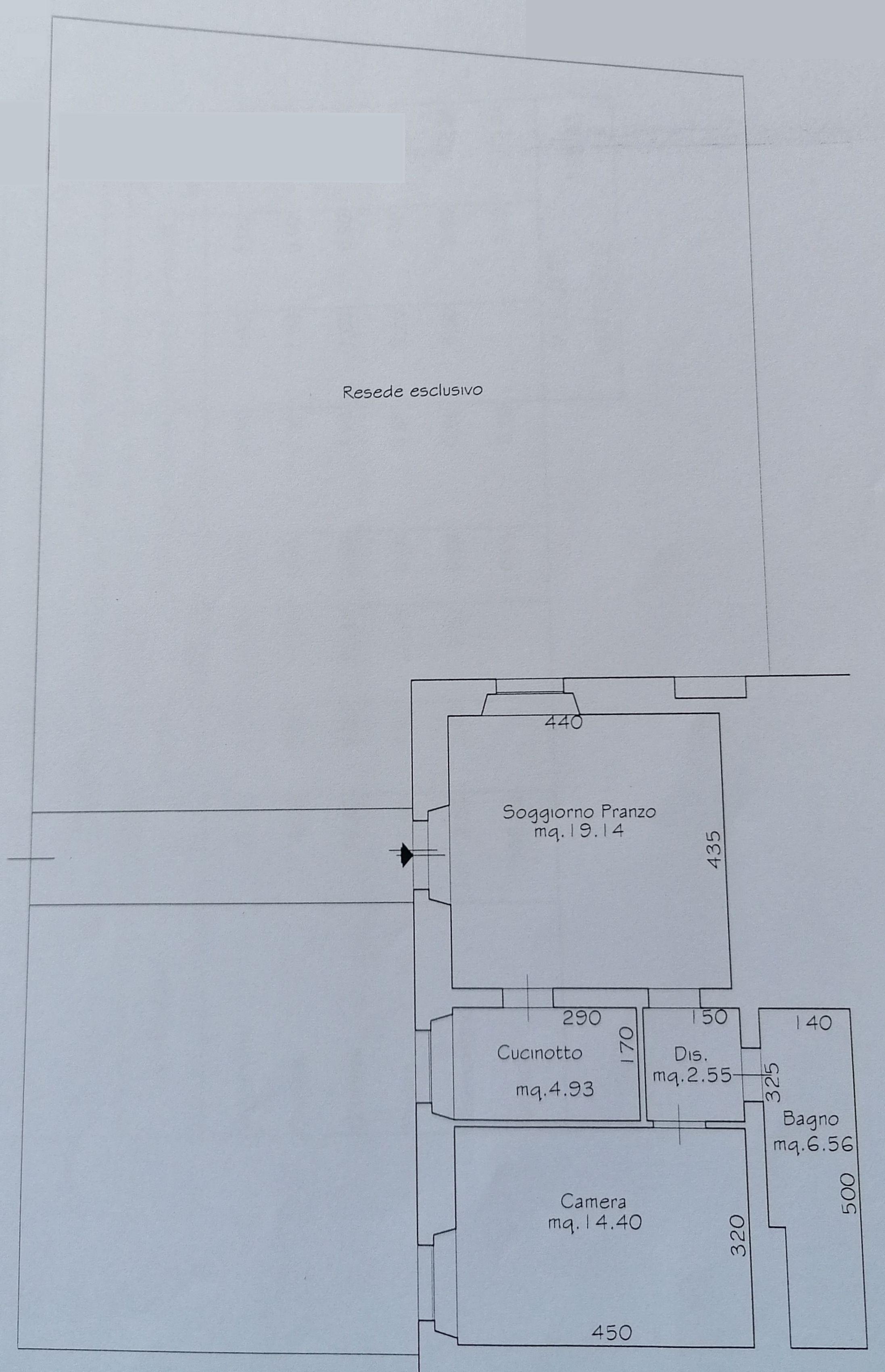 Planimetria 2/2 per rif. 8938