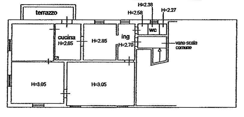 Planimetria 1/2 per rif. 8941