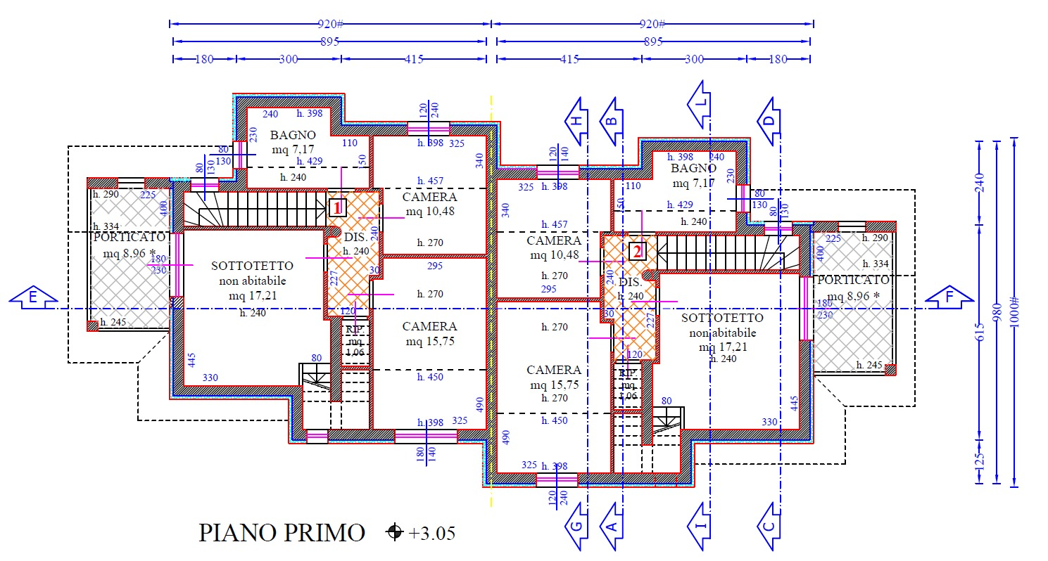 Planimetria 2/9 per rif. 8937