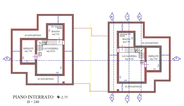 Planimetria 4/9 per rif. 8937