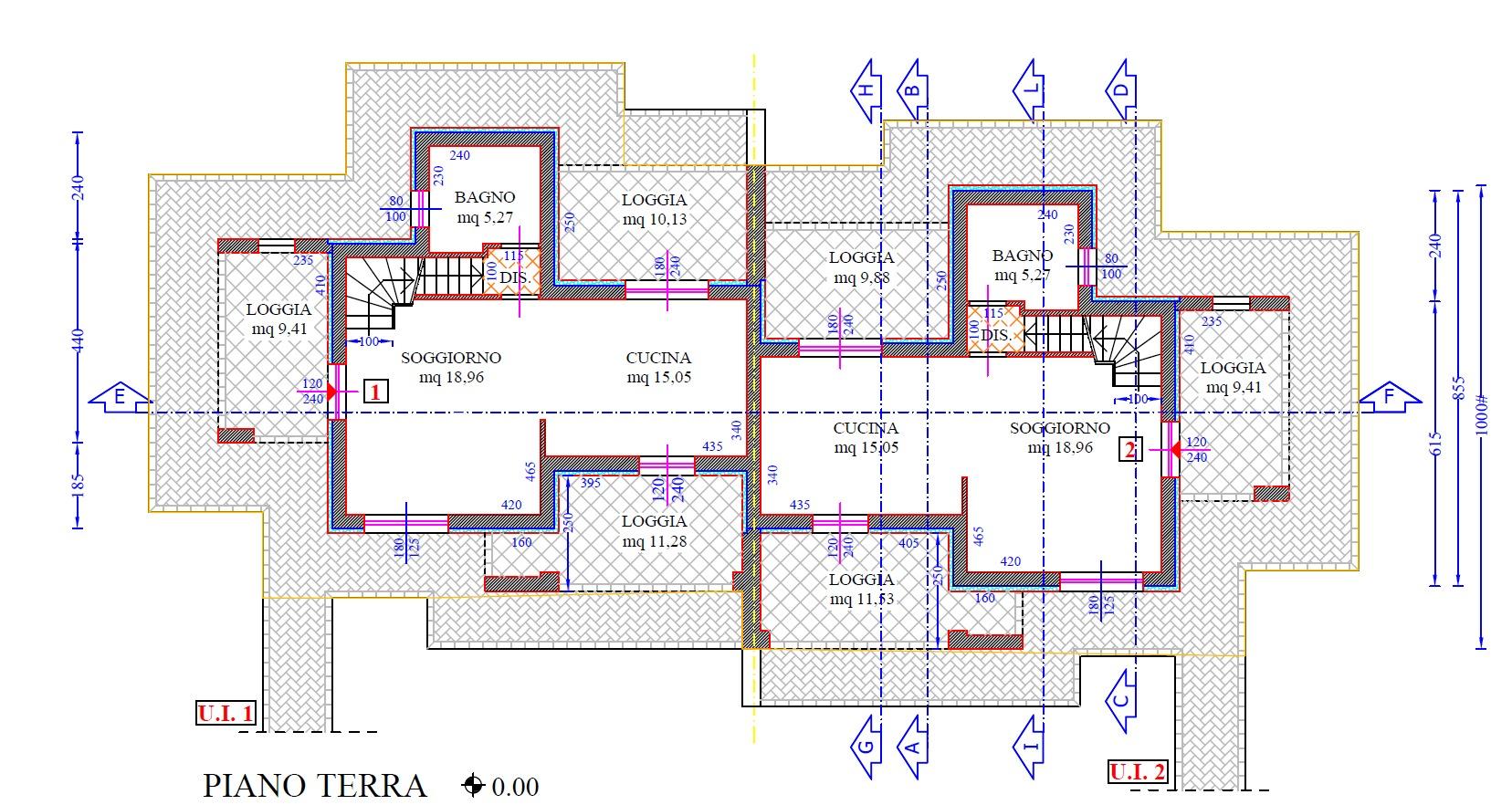 Planimetria 1/9 per rif. 8937