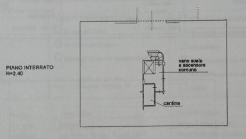 Planimetria 2/3 per rif. 8943