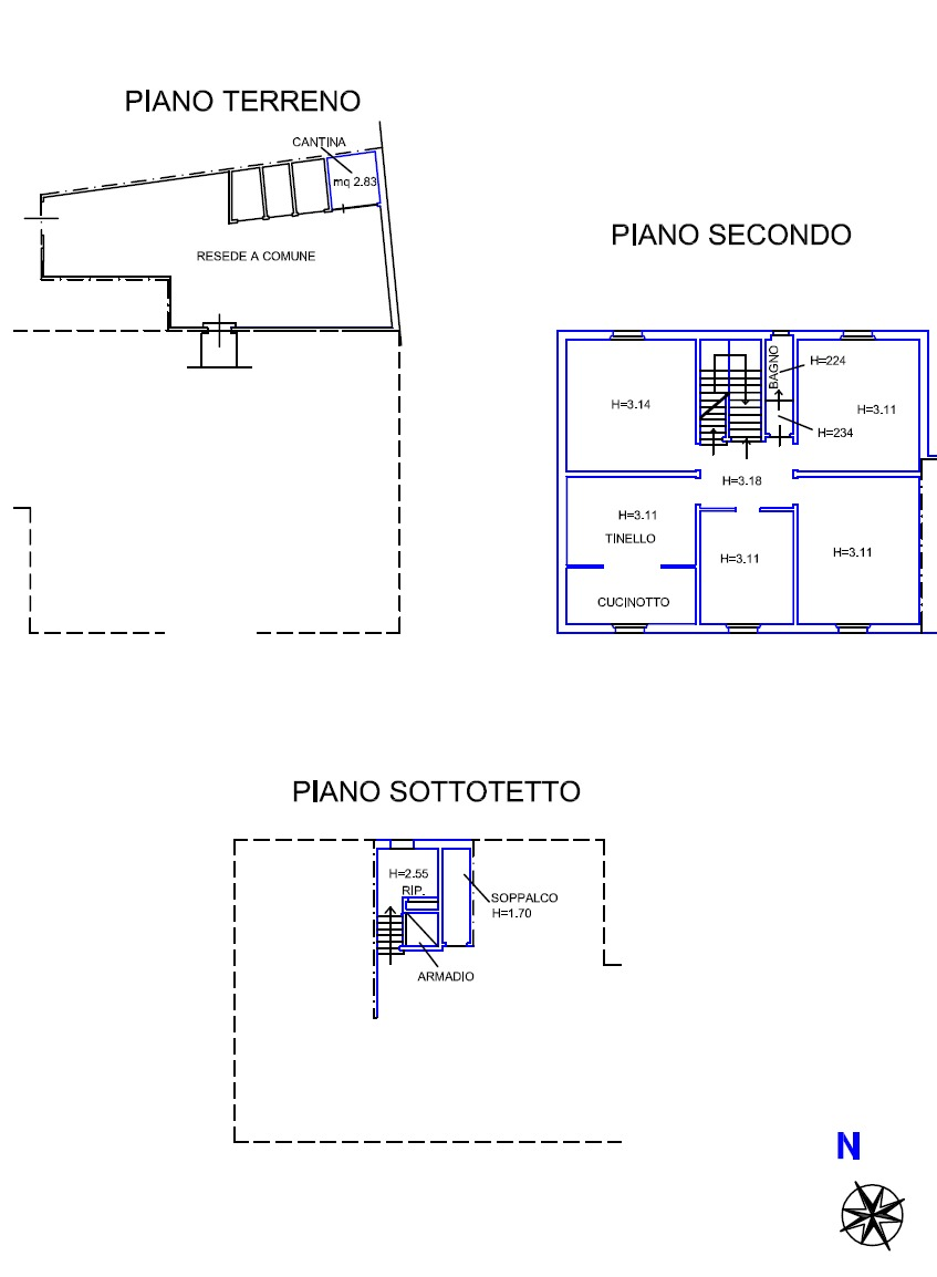 Planimetria 1/2 per rif. 8947-06