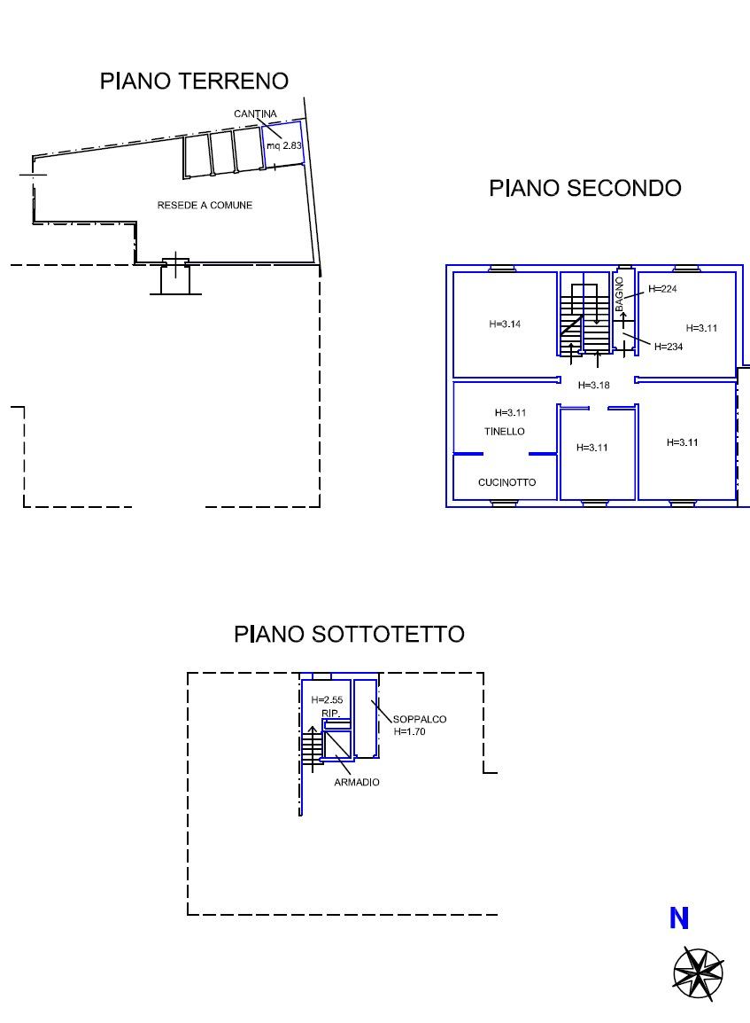 Planimetria 1/2 per rif. 8948