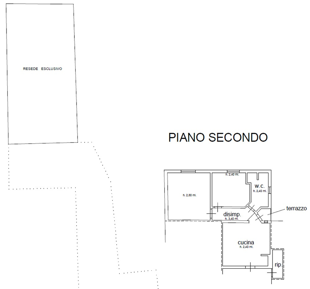 Planimetria 1/1 per rif. 8950