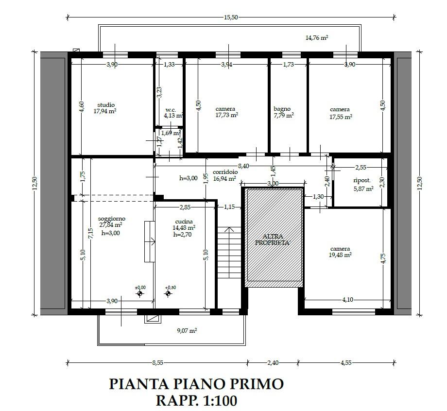 Planimetria 2/2 per rif. 8953