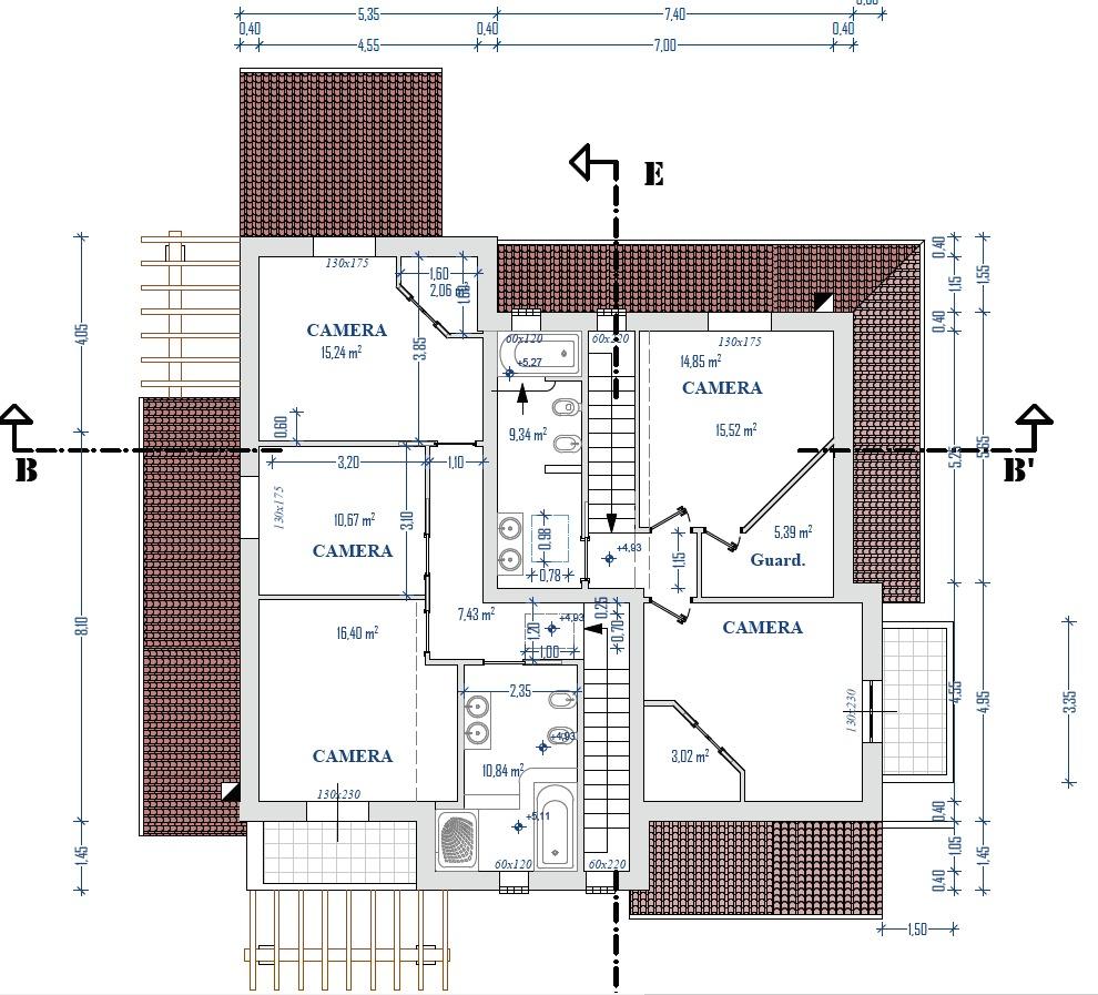 Planimetria 2/4 per rif. 8955