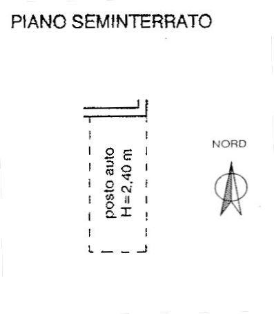 Planimetria 3/4 per rif. 8962