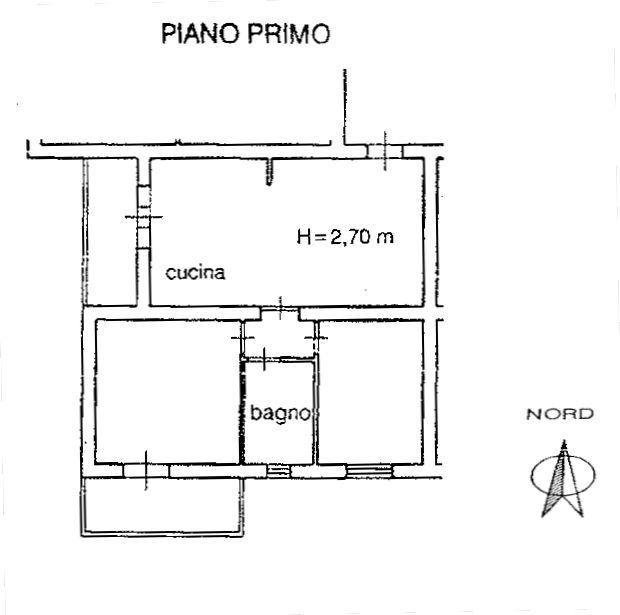 Planimetria 1/4 per rif. 8962