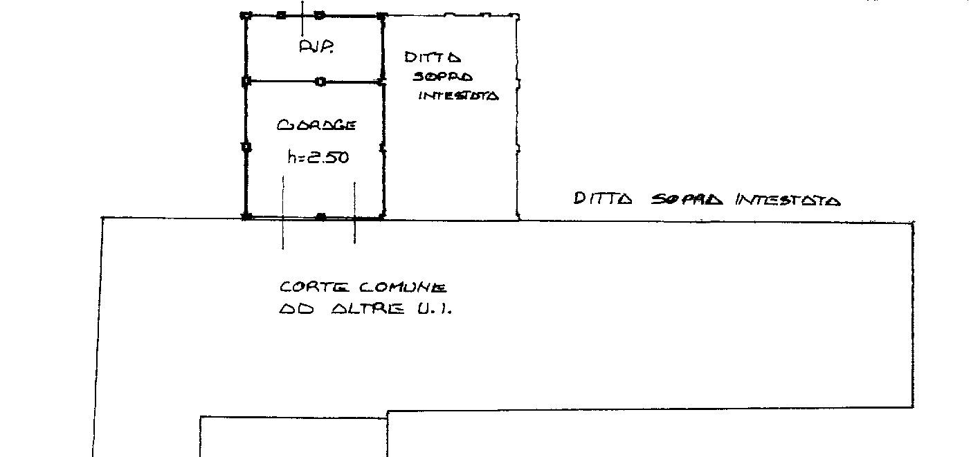 Planimetria 3/4 per rif. 8944