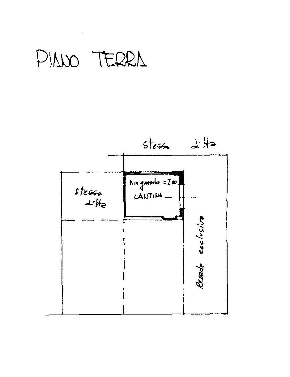 Planimetria 2/4 per rif. 8944