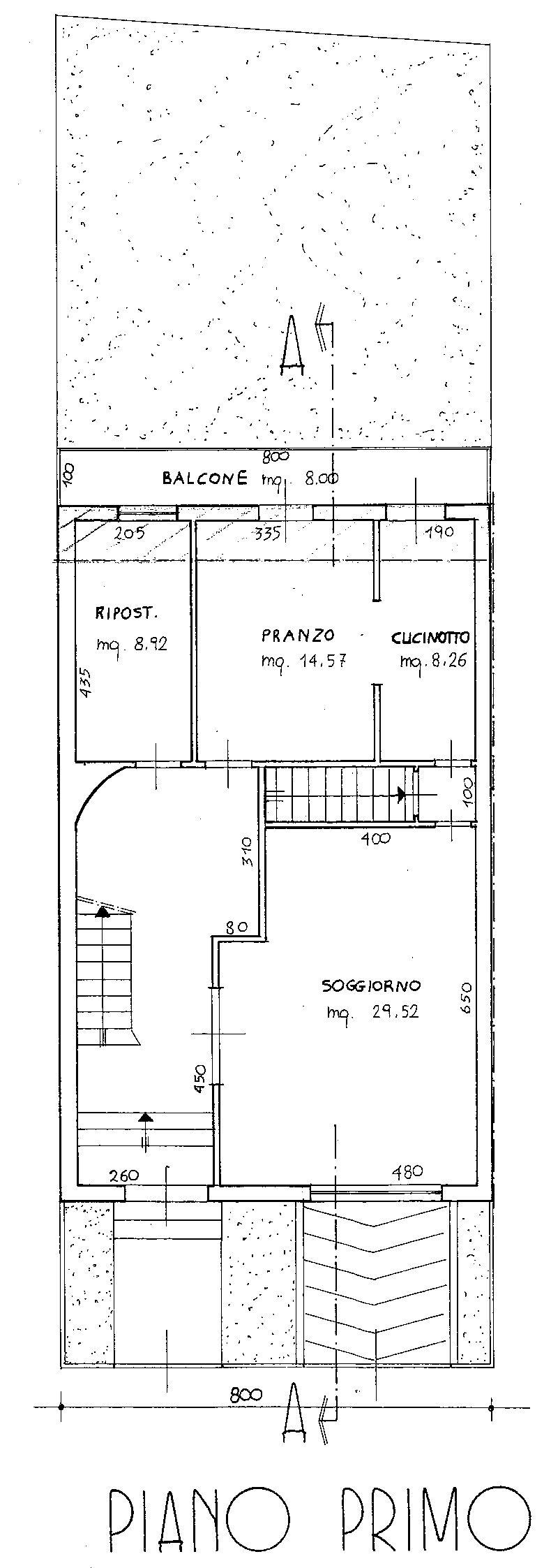 Planimetria 2/5 per rif. 8966