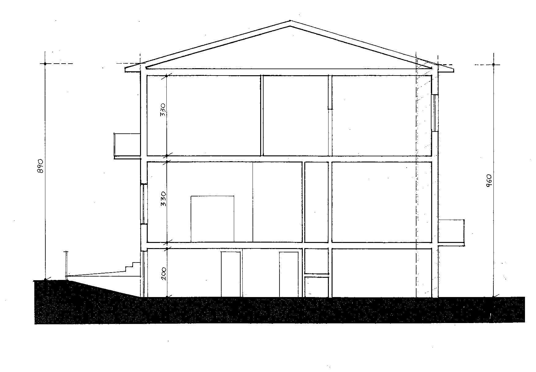 Planimetria 4/5 per rif. 8966
