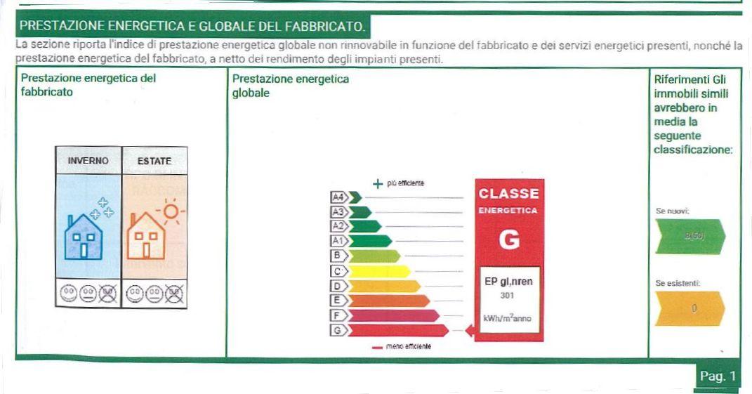 Planimetria 1/3 per rif. 8970