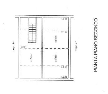 Planimetria 3/3 per rif. 8970