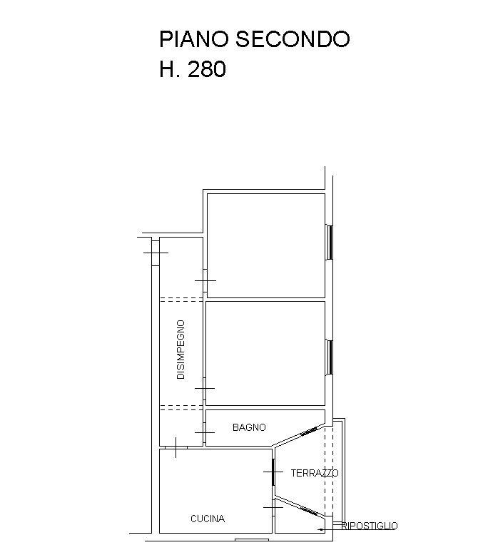 Planimetria 1/2 per rif. 8974