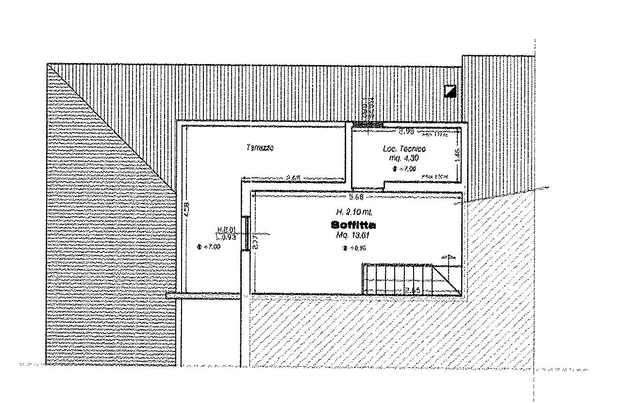 Planimetria 4/4 per rif. 8980