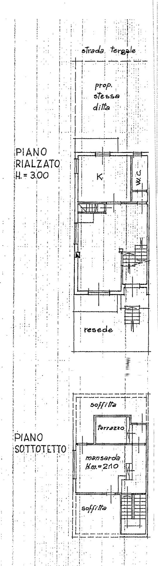 Planimetria 2/3 per rif. 8895-02