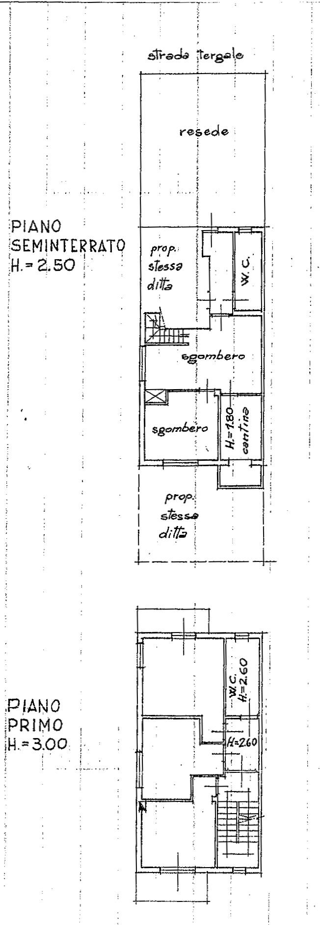 Planimetria 1/3 per rif. 8895-02